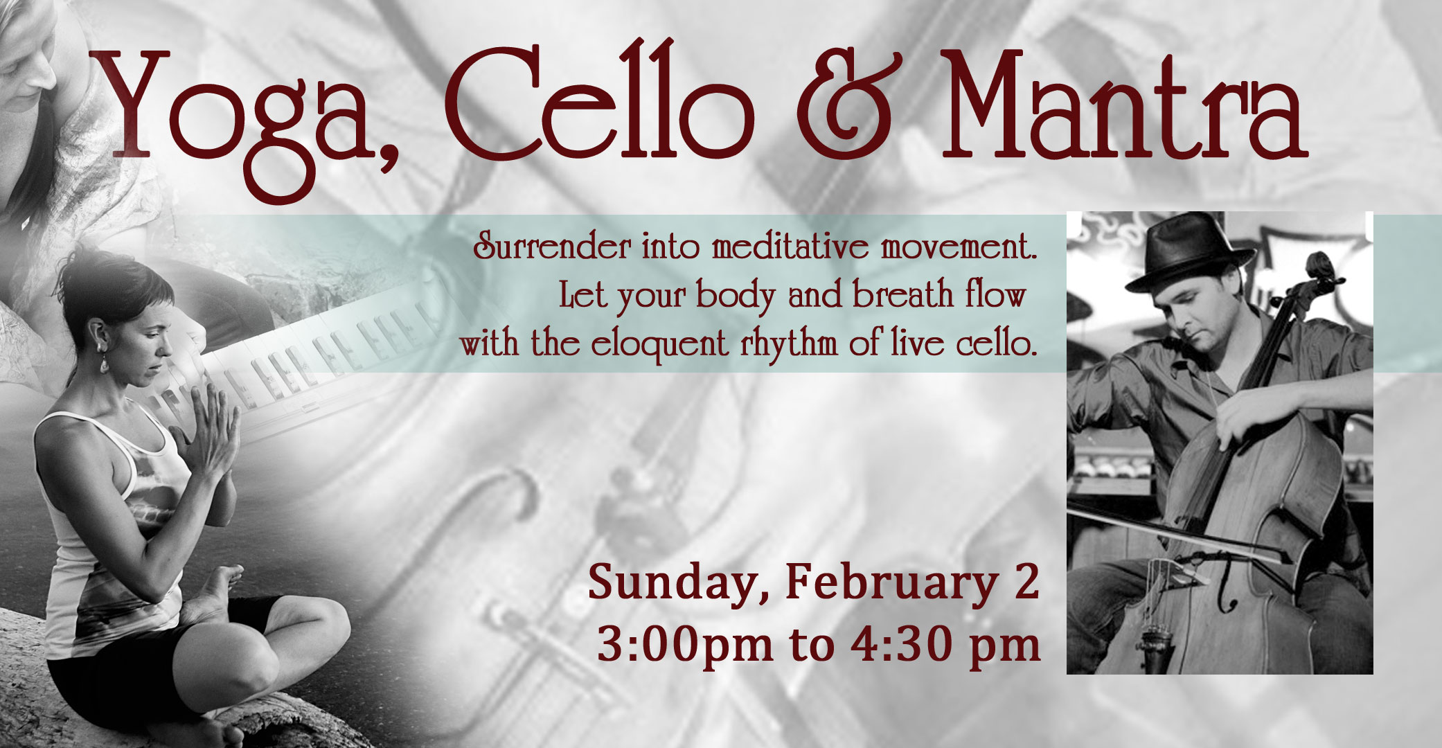 Yoga Cello and Mantra: Sandpoint ID